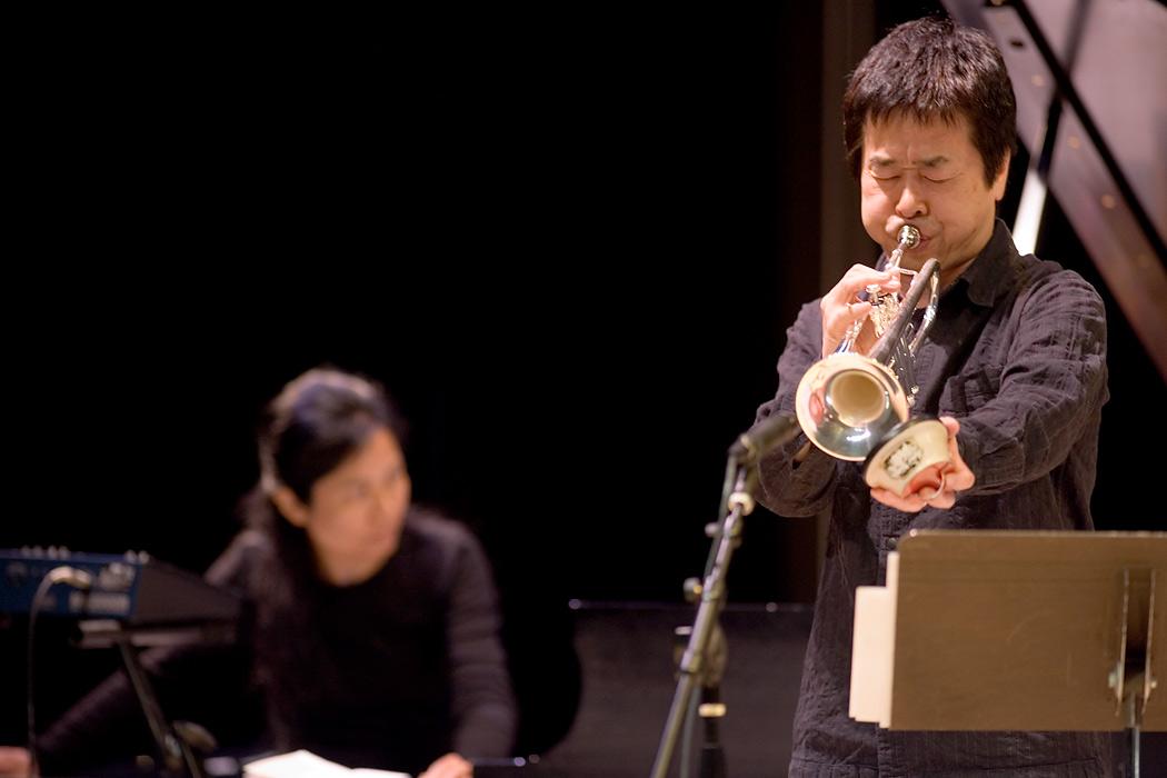 Satoko Fujii and Natsuki Tamura | EyeShotJazz